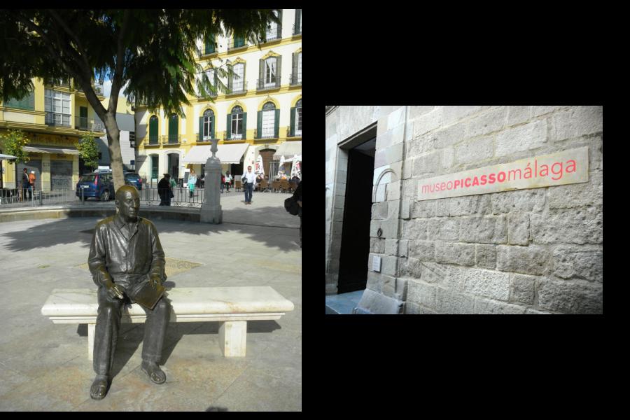 Pomnik Pabla Picassa oraz Muzeum w Maladze
