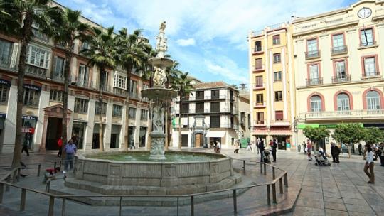 Plaza de la Constitucion, Malaga